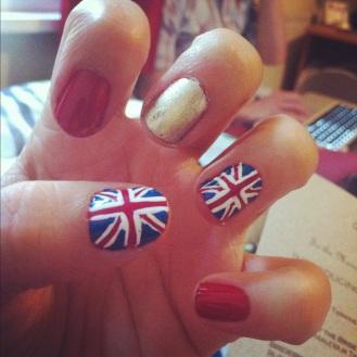 My Diamond Jubilee Nails <3