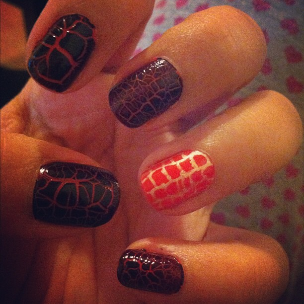 Barry M Croc Nail Effect -New Textured Nail Trend