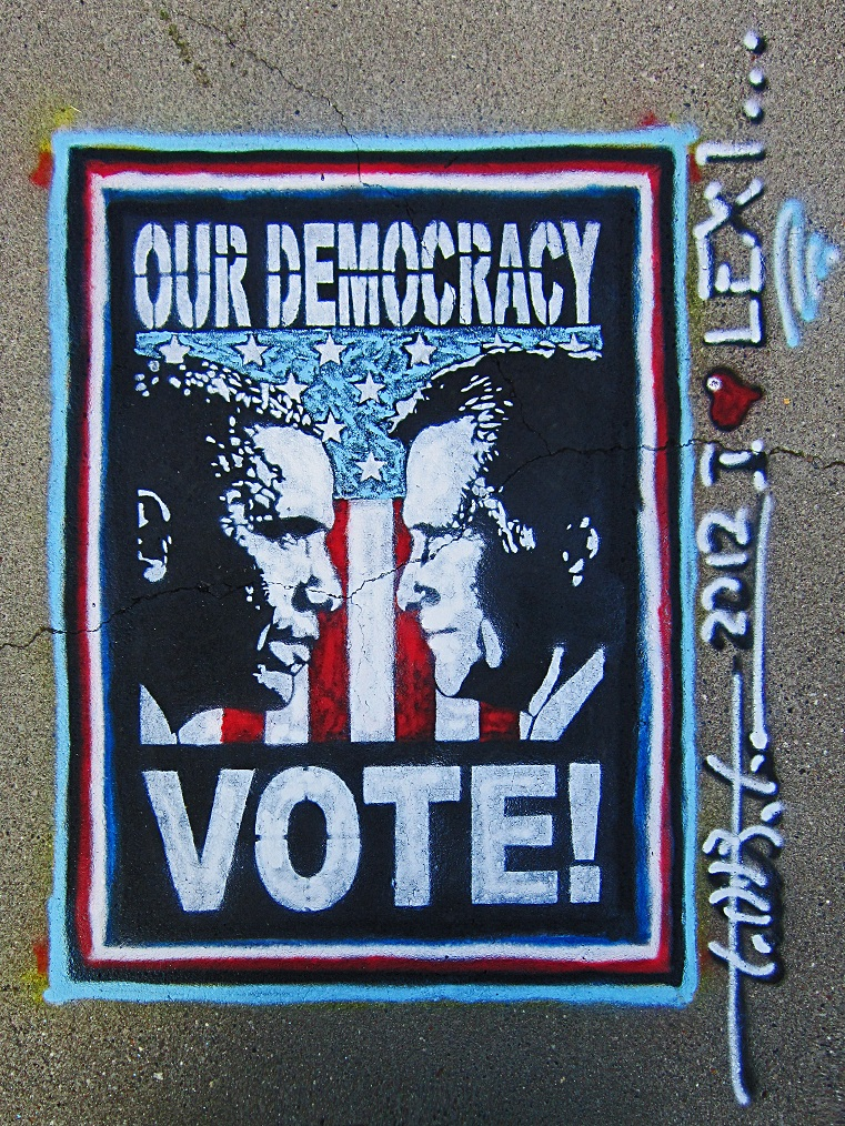"""OUR DEMOCRACY, VOTE!"" by Todd Benson"