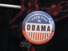 Vote Obama - photo by Denise Krebs