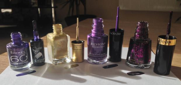 Purple Mania Nails